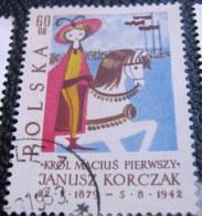 Poland 1962 The 20th Anniversary Of The Death Of Janusz Korczak 60gr - Used