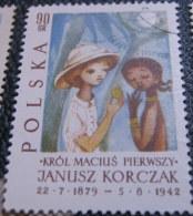 Poland 1962 The 20th Anniversary Of The Death Of Janusz Korczak 90gr - Used