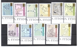 BIN869 VATICAN 1981  MICHL 792/02 ** Postfrischer SATZ Siehe ABBILDUNG - Vatikan