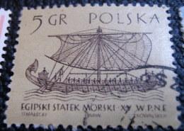 Poland 1963 Historical Ships 5gr - Used