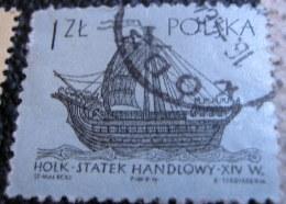 Poland 1963 Historical Ships 1zl - Used