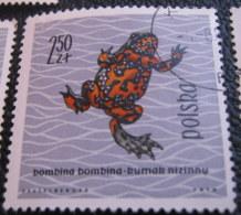 Poland 1963 Amphibians & Reptiles 2.50zl - Used