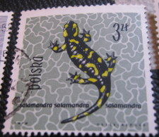 Poland 1963 Amphibians & Reptiles 3zl - Used