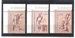 BIN872 VATICAN 1976  MICHL 675/77 ** Postfrischer SATZ Siehe ABBILDUNG - Vatikan