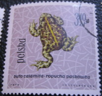 Poland 1963 Amphibians & Reptiles 3.40zl - Used