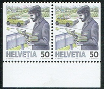 ** TIMBRE NEUF 1988 DU CARNET .C/DES TIMBRES SUISSES Nr:738H3. ZUMSTEIN Nr:738H3. Y&TELLIER Nr:1267a/b.**