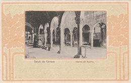 7603) CARRARA INTERNO DEL DUOMO NON VIAGGIATA 1903 CIRCA RETRO NON DIVISO - Carrara
