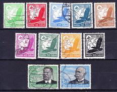 Allemagne - Empire 1934 Mi 529-39, Obliteré