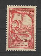 FRANCE 1939   Grégoire De Tours Et Vue De Clermont-Ferrand   YT 442  Neuf** Sans Charniere