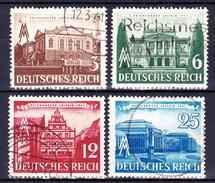 Allemagne - Empire 1941 Mi 764-7, Obliteré