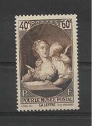 FRANCE 1939  Tableau De Fragonnard -pour Le MUSEE POSTAL  YT 446 Neuf** Sans Charniere// VENTE EN NOMBRE !!