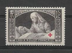 FRANCE 1940 Croix ROUGE Au Profit Des Blessés YT 460 Neuf** Sans Charnière