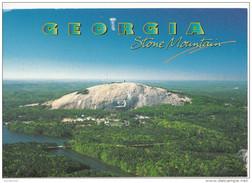 Georgia - ATLANTA - Stone Mountain Panorama - Atlanta