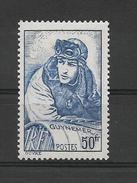 FRANCE 1940 GUYNEMER  YT 461 Neuf** Sans Charnière