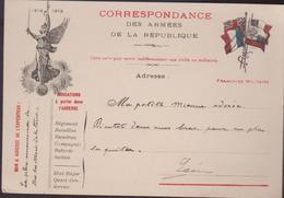 Correspondance DES ARMEES De La Républiques