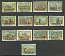 RUSSLAND RUSSIA 1956 Michel 1809 - 1821 MNH