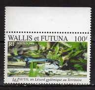 Wallis And Futuna 2004 Le Pili'Uli, Lizard.Fauna/Reptiles/Lizards.MNH - Nuovi