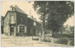62 LA BUISSIERE. Route Du Bois Et Château 1923 - Frankreich