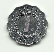 1989 - Belize 1 Cent, - Belize