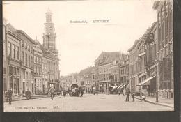 Zutphen.Houtmarkt. Rechts De Blinden Van De Oude Apotheek - Zutphen