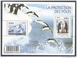 """France 2009 """"La Protection Des Pôles"""" Neuf Qualité Luxe"""