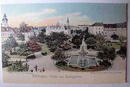DEUTSCHLAND - BADEN-WURTTEMBERG - ETTLINGEN - Partie Am Stadtgarten (copy) - Ettlingen