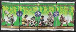 La Libye Oblitérérs, USED, 75TH ANNIV OF BOY SCOUT MOVEMENT