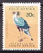 South Africa MH Birds Stamp With WM