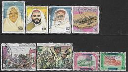 La Libye Oblitérérs, USED