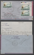 NORFOLK ISLAND / 1975 LETTRE AVION POUR ST PAUL - TAAF (ref 3510)