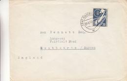 République Fédérale - Lettre De 1953 - Oblitération Hamburg - Bateaux - Valeur 60 Euros