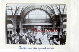Intérieur Du Grand Palais - Exposition Universelle Paris 1900 - Foto's