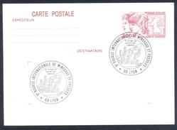 France 1984 Postal Stationery Card Minerals Mineraux Bergbau Mines Mineralogy Mining Fossilien Fossil Fosil Borse