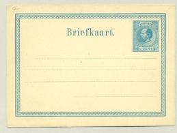 Nederland - 1873 - 5 Cent Willem III, Briefkaart G5 - Ongebruikt