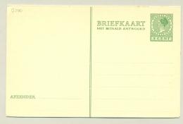 Nederland - 1931 - 5 + 5 Cent Type Veth, Briefkaart G230 - Ongebruikt