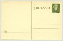 Nederland - 1950 - 5 Cent Juliana En Face, Briefkaart G300 - Ongebruikt