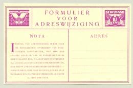 Nederland - 1929 - 1,5 Cent Lebeau, Verhuiskaart G9 - Ongebruikt