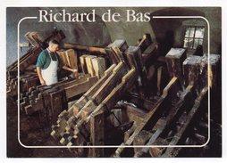 AMBERT--Moulin Richard De Bas--Lot De 2 Cpm Animées--Musée Du Papier--éd Pignol..........à Saisir - Ambert