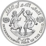40963) Jemen, 25 Rials, Silber, 1983, Sch. 151, KM 45, PP - Aegypten