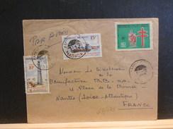 67/642 LETTRE MADAGASCAR  + VIGNETTE TUBERCULOSE