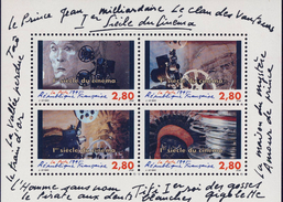 BF17  1er SIECLE Du CINEMA   NEUF** ANNEE 1995