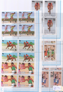 A98 ZAIRE 1985 OLYMPIC GAMES LAUSANNE 85 4SET MNH