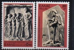PIA - GRECIA. - 1977 : Anno Del Reumatismo -   (Yv 1236-41)