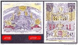 France Musique N° 4708 Et 4709 ** Orgues SAINT JACQUES DE LUNEVILLE