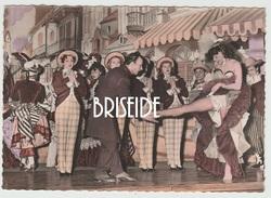 TEATRO DANZA VARIETA' ANNI '50 BALLERINE BALLERINI FOTO FORMATO 10,5X14,5 - Spettacolo