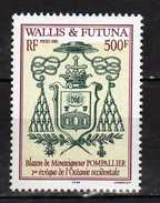 Wallis And Futuna 2002 Monseigneur Pompallier, First Bishop Of Western Oceanie.Coat Of Arms.Blasons.MNH - Unused Stamps
