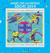 NIGER 2013 - Pre-Olympics Sochi - YT 1821-4; CV = 16 €