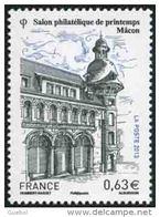 France Architecture N° 4736 ** Salon Philatélique De Printemps - Hôtel Des Postes De Mâcon.