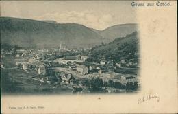 AK Gruss Aus Cordel Kordel, Gesamtansicht, Um 1900 (22553) - Germany