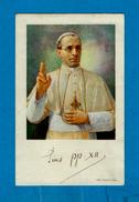 Image Pieuse - ** Pius XII   ** -  Editée  ASTRO De Rome - Images Religieuses